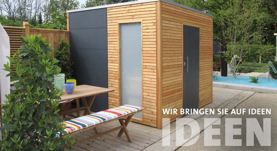 ideen aus holz fur den garten. Black Bedroom Furniture Sets. Home Design Ideas