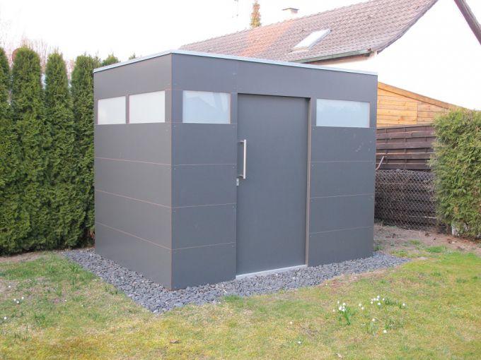 Favorit Gerätehaus HPL – Widmann - Ideen aus Holz für den Garten SO59