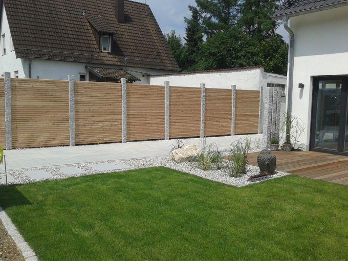 Sichtschutz Widmann Ideen Aus Holz Für Den Garten